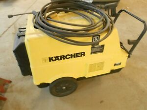Karcher HDS 890 HOT WATER Electric Pressure Washer 3phase 2300 psi 3.7 gpm
