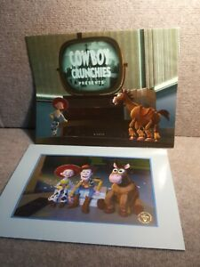 Disney Toys Story 2 2000 Exclusive Commemorative Lithograph RARE