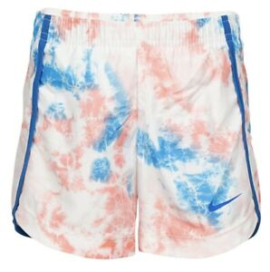 NWT NIKE DRI FIT TIE DYE PATTERNED SHORTS GIRLS KIDS SIZE 5 OR SIZE 6 MSRP $20 $18.00