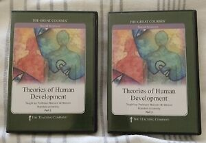 Theories of Human Development Parts I II 2002, DVD The Great Courses
