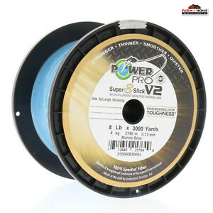 Power Pro Braided Fishing Line 8lb 3000yds Blue New