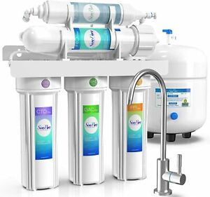 Reverse Osmosis Water Filtration System 5 Stage Under Sink RO Water Filter 75GPD $124.20