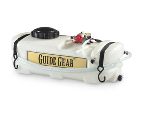 8 Gallon ATV Broadcast Spot Sprayer 1 GPM 12v Garden Lawn Fertilizer Spreader