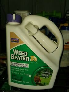 Bonide Weed Beater Fe Weed Killer 64 Oz Each With Spray Attachment Ready to Use