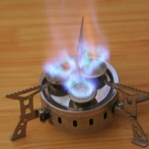 Camping Stoves Foldable Stainless Steel Cooking Stove Backpacking Hiking Travel
