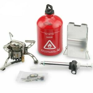 Multi Fuel Stove Preheating OilGas Outdoor Camping Stove Cooker Picnic Burners