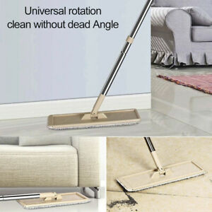 Self Cleaning Drying Free Hand Wringing Squeeze Mop and Bucket System Flat Floor