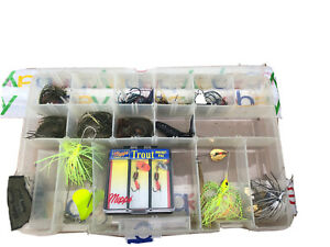 Freshwater Lures Jigs Lot W Case