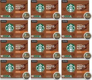 120 K CUPS Starbucks House Blend Medium Roast Coffee Best Before January 2020