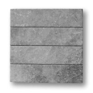 Bistrot 3 x 12 Marble Look Porcelain Subway Tiles Matte Gray Kitchen Bath