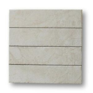 Bistrot 3 x 12 Marble Look Porcelain Subway Tiles Matte Marfil Kitchen Bath