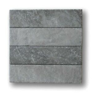 Bistrot 3 x 12 Marble Look Porcelain Subway Tiles Matte Taupe Kitchen Bath