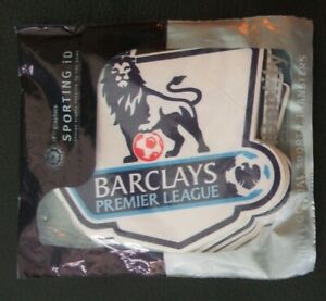 Pack 20 Vinyl Sporting id Barclays Premier League Shirt Sleeve Patches Rep Size