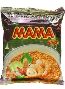 20 Packages Mama Shrimp Tom Yum Instant Noodles 2.12OZ *Priority Shipping*