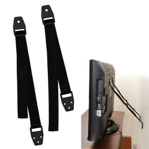 TV Furniture Anti Tip 2 Piece Straps Safety Furniture Wall Anchors Baby Proofing