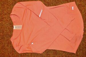 Under Armour Women's Charged Wool Reflective Long Sleeve Running Shirt size:M $19.00