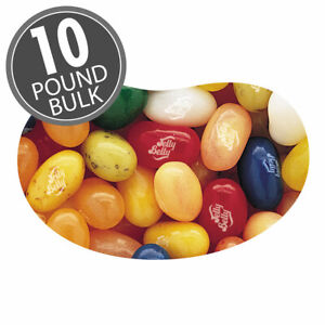 FRUIT BOWL MIX- Jelly Belly Candy Jelly Beans- 10 LB- BEST PRICE -Ship Flat Rate