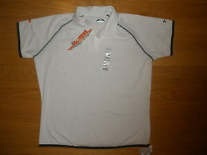 SALE NEW WOMEN LOT 1 OR 2 HOOTERS WHT UNDER ARMOUR POLO SHIRTS LAS VEGAS LG amp; XL $17.95
