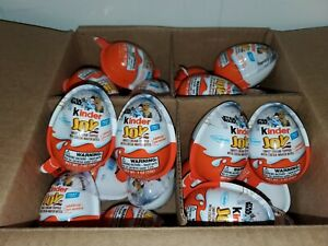 24 Kinder Joy Star Wars Chocolate Egg Surprise Limited Edition Toy Candy Lot A8