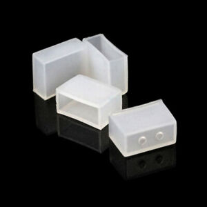 100PCS 10mm Silicone End Cap Cover for 5050 Silicone Tube LED Strip Lights