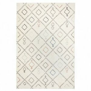 SOHO 388 TRELLIS Luxurious Non Shed Heat Set Polypropylene Rugs with OFFER