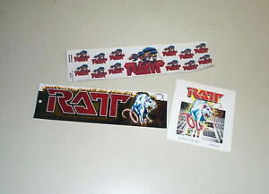 RATT Lot Of Vintage Stickers