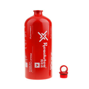 Camping Fuel Bottle Empty 1.5L Gas Oil Motorcycle Expedition Gasoline Holder