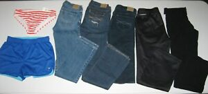 Kids Girls Clothes Lot of 7 Items Abercrombie, Under Armour & More. Sizes 14 16 $55.00
