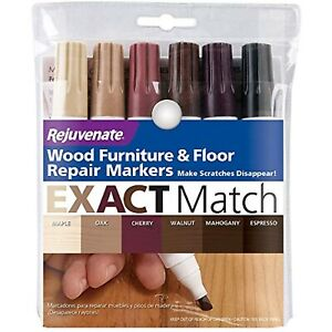 Wood Furniture and Floor Repair Markers Make Scratches Disappear 6 Count New 4.2