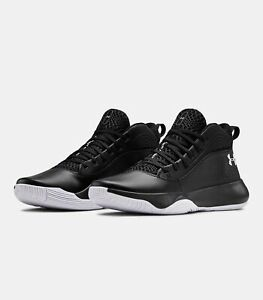 2020 Under Armour Mens UA Lockdown 4 Basketball Black Curry Style Shoes $64.99