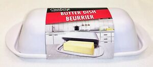 Butter Dish Single Stick White Texture /Cooking Concepts
