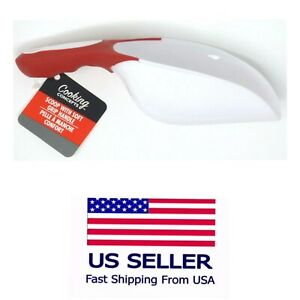 Plastic Scoop MultiPurpose, With Soft Grip Handle Color  Red. Free Shipping