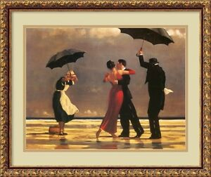 Jack Vettriano quot;The Singing Butlerquot; Framed Art 20x25