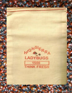 1500 Premium Fresh Live Ladybugs Think Fresh In Stock Now Fast Shipping. $35.00