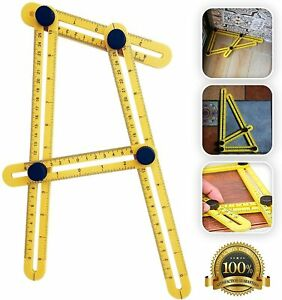 Angle Izer Template Tool More Square Ruler Template Measures for Handymen Profe $6.99
