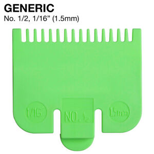 FITS WAHL Barber Pro Clipper Hair Guide No. 1 2 Attachment Comb 1 16 GENERIC