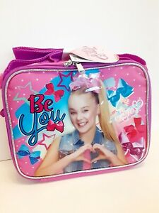 JOJO SIWA Fully Insulated Lunch Bag Soft Kids Lunch Kit Girls New