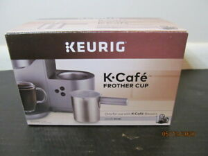 Keurig K-Cafe Frother Cup for Use with K-Cafe Brewers, Nickel