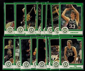 1984 Star LARRY BIRD COMPLETE SET OF 18 CARDS