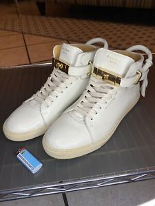 Buscemi White High Top Sneakers Vintage size 42
