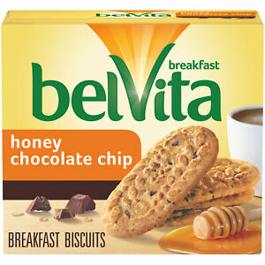 Honey Chocolate Chip Breakfast Biscuits, 5 Packs 4 Bis Per Pack