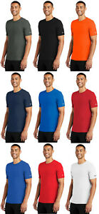 Nike Dri FIT Mens T Shirt Short Sleeve Gym Workout Athletic Cotton Polyester Tee $24.99