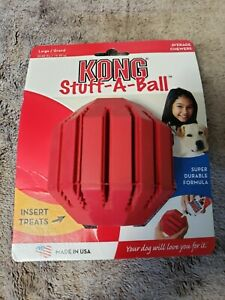 Kong Stuff A Ball Large Dog Treat Chew Toy NWT
