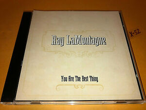 RAY LaMONTAGNE hit PROMO single YOU ARE THE BEST THING 3 track CD call out hook