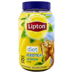 Lipton Diet Iced Tea Mix Lemon Flavor (5.9 oz., makes 20 Quarts)