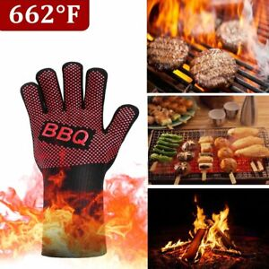 Silicone Kitchen Glove Heat Resistant Oven BBQ Cooking Mitts Grill Gloves 1PC