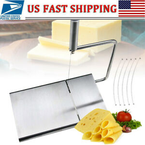 Cheese Slicer Butter Cutter Board Baking Kitchen Hand Tool Stainless Steel5Wire