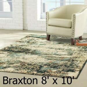 Braxton Multi 7 ft. 10 in. x 10 ft. Area Rug, Home Decorators Collection