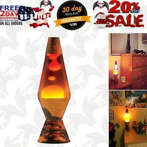 Schylling 2149 Lava The Original Colormax Lamp with Volcano Decal Base, 4.0
