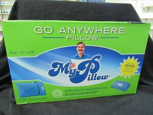 MY PILLOW GO ANYWHERE PILLOW TRAVEL SIZE 12